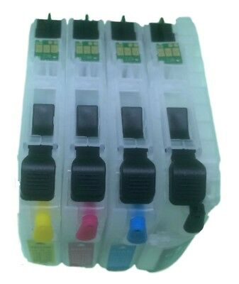 LC-223 Empty Refillable Cartridges for Brother Printer Models