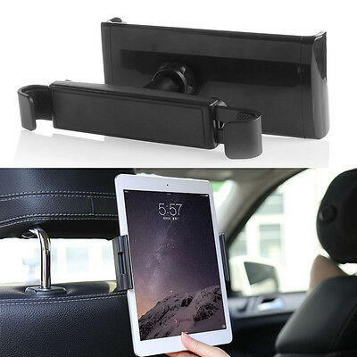 "360° Car Back Seat Headrest Mount Holder Stand For 7-10"" Tablet ipad Tab GPS"