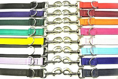 5ft,8ft,11ft,Police Style Dog Training Lead,Leash 20mm,25mm Cushion Webbing