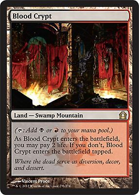 *MRM* FR Crypte de sang - Blood Crypt  MTG Return to ravnica