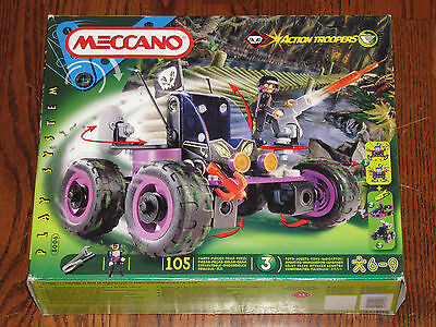 Meccano Action Troopers, Scout Car Type Vehicle (5006) NISB