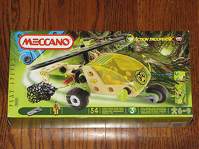 Meccano Action Troopers, Helicopter (3005) NISB