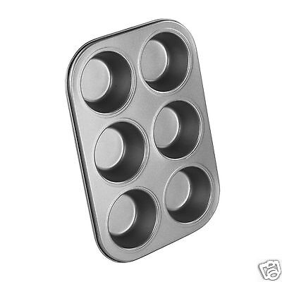 Chef Aid Muffin Non Stick Bun Fairy Cake Cupcake Baking Cooking Tin Tray
