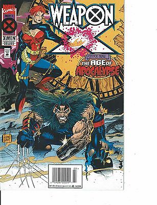 Lot Of 2 Marvel Comic Books Weapon X #1 and #4  ON4