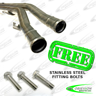 Mg Tf Stainless Steel Underfloor Coolant Pipes. Genuine Mg