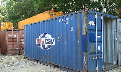 20ft Shipping Container Cargo Storage Container ** Delivery to Anderson