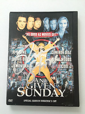NICE Signed Oliver Stone DVD Any Given Sunday Football Movie Autographed Case