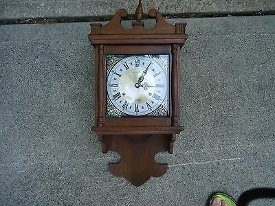 Vintage Hamilton 31 Day Wall Clock For Repair Not Working