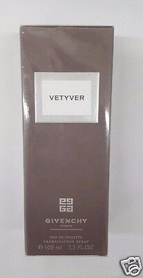 VETYVER BY GIVENCHY 3.3 Oz Eau de Toilette Spray for Men BRAND NEW