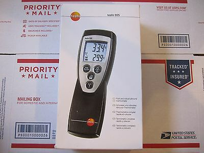 Testo 925 Type K Thermometer, Works with many probes wired and wireless