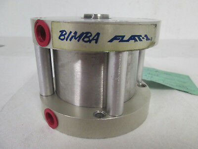 "Bimba FO-70-2 Flat 1 Double Acting, Single End Rod Cylinder, 3"" Bore, 2"" Stroke"