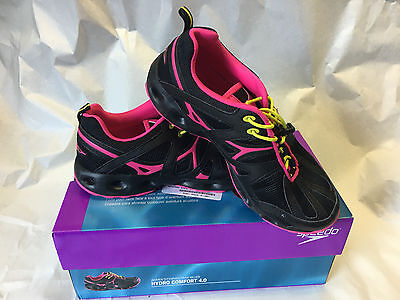 Speedo Hydro Comfort 4.0 Womens Water Athletic Shoes ( Pink or Blue)