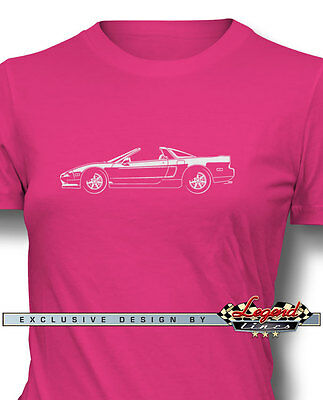 """Acura NSX 1990 """"Top Off"""" T-Shirt for Women - Multiple Colors & Sizes - Japanese"""