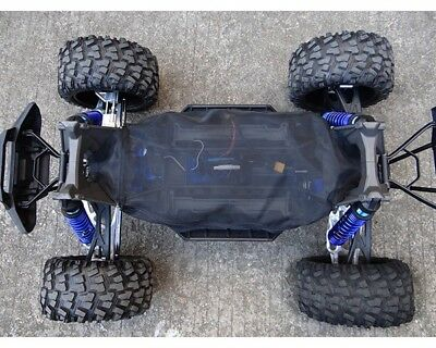 Traxxas X-Maxx Mesh Chassis Cover Protective Dirt Guard by Hot Racing XMX16C02