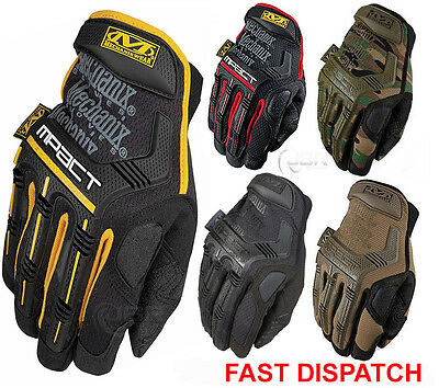 Mechanix Tactical M-PACT Gloves Military Airsoft Paintball Motor Cycling