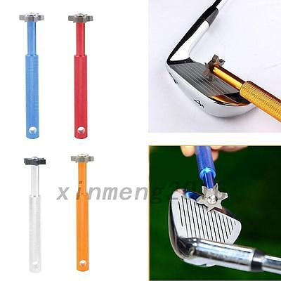 Multicolor Grooves Golf Club Iron Groove Cleaner Sharpeners Cleaning Tool New
