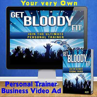 Personal Trainer Business Video Commercial for you to show off your Business