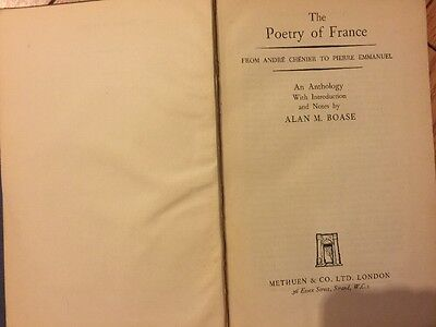 French Poetry Poems Of Francois Villon Miniature Book