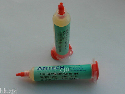 AMTECH Soldering Flux Paste NC-559-ASM-UV(TPF) 10CC USA Free Needle