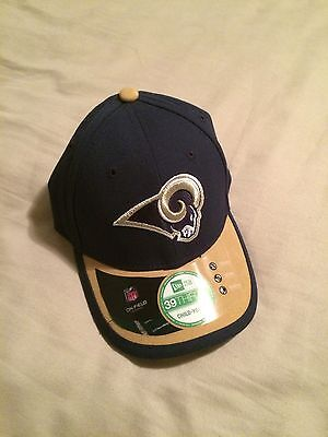 Los Angeles RAMS New Era Official NFL 39THIRTY BASEBALL HAT CAP (youth size) 1ca49a48fd05