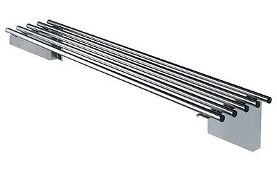 New Simply Stainless Simply Stainless SS11.1200 Pipe Wall Shelf. 1200 mm Wide