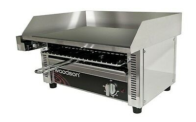 New Woodson Woodson W.GDT65 Griddle Toaster. Weekly Rental $9.00