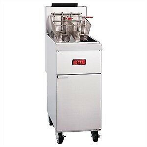 New Thor THOR - GH111 - GAS HEAVY DUTY DEEP FRYER. Weekly Rental $23.00