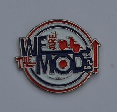 We Are The Mods Quality Enamel Pin Badge