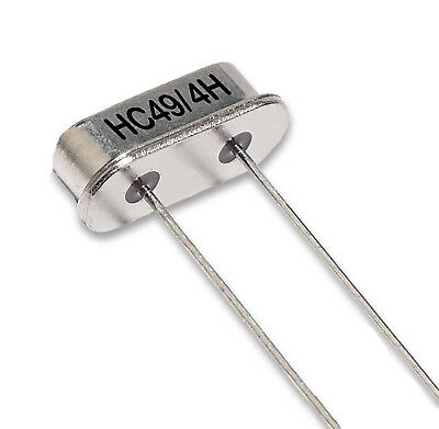 20MHz Pack of 2 20.000MHz HC49//4H LF A147K Quartz Crystal Resonator
