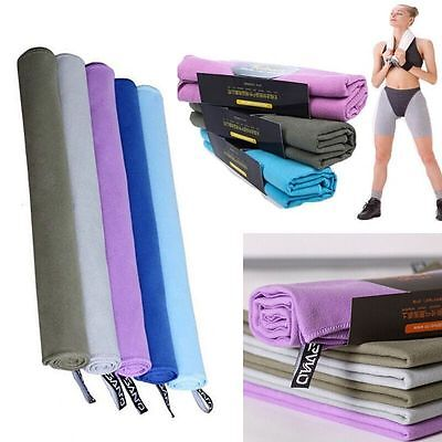 New Soft Microfiber Towel Fast Drying Housekeeping Travel Gym Camping Sport Bath