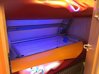 Soltron L65 Twin Charming cherry, Solarium sunbed, no KBL, no UWE tanningbed