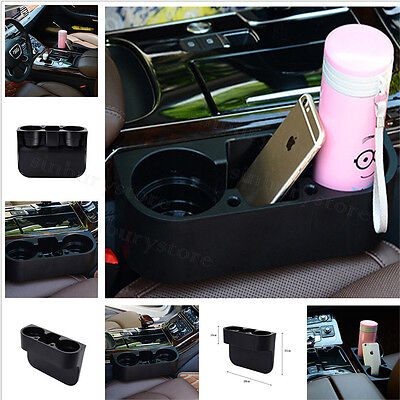 Universal Car Seat Phone Can Water Bottle Drink Cup Mount Holder Stand Storage