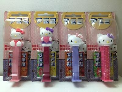 4 Hello Kitty Pez Dispensers