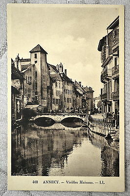 """CPA """" ANNECY - Vieilles Maisons"""
