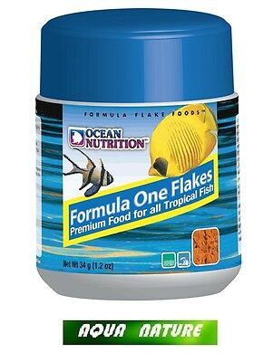 OCEAN NUTRITION - FORMULA ONE Marine FLOCONS - 70g - Nourriture De Poisson Marin