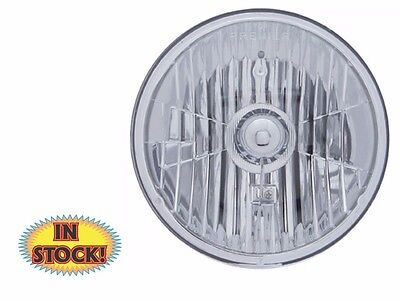 """United Pacific Chrome 31387 7/"""" Crystal Headlight United Pacific Chrome 31387"""