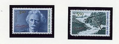 MUSIC   MNH   Norway   1038-39   Composer       CH830