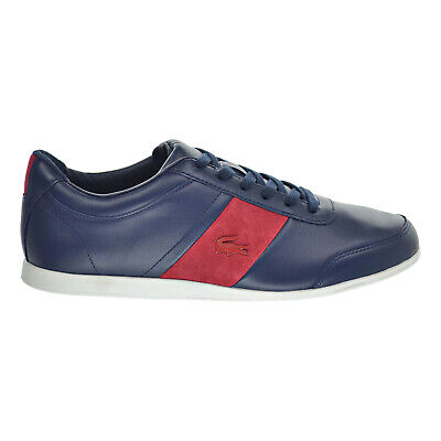 100/% Genuine Lacoste Explorateur Men/'s Trainers Navy Brand New Variable Sizes