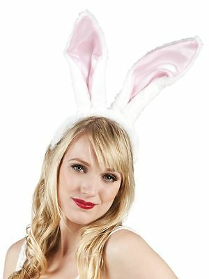 Big Bunny Rabbit Ears on Headband Hen Party Fancy Dress Animals