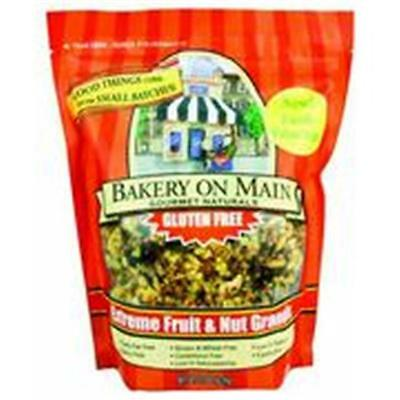 Bakery On Main Gluten Free Extreme Fruit Nut Granola 22 Oz -Pack of 4