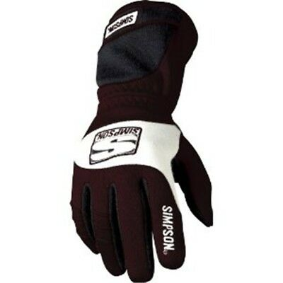 Simpson Red V-Grip Gloves, Small