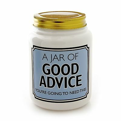 Jar of Good Advice- Large by Lorrie Veasey