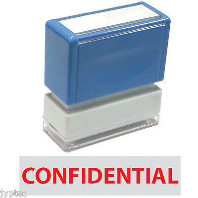 "JYP PA1040 Rectangle Stock Pre-Inked Rubber Stamp with ""Confidential"""