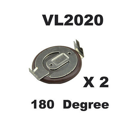 Genuine VL2020 180 Degree Rechargeable Battery for BMW Remote Fob Key E39 E46 X3