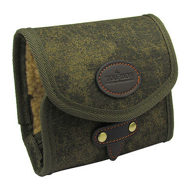 Tourbon Fly Fishing Wallet Canvas Pouch Flies Case Bag Box Vintage Accessories