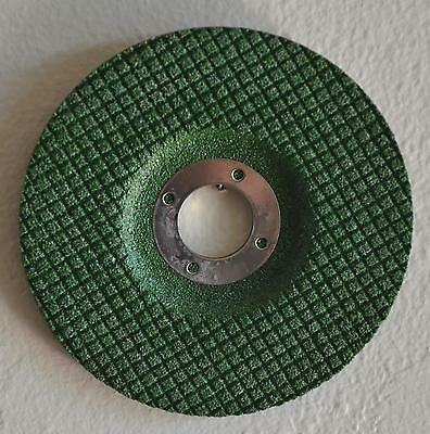 "25pcs 4-1/2"" x 1/8"" x 7/8"" Flexible Grinding Wheel 60 GRIT Green Grinder Disc"