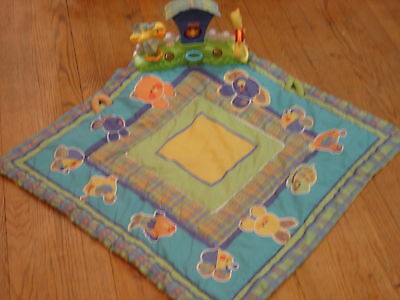 Fisher Price Animal Play Mat with Interactive Toys