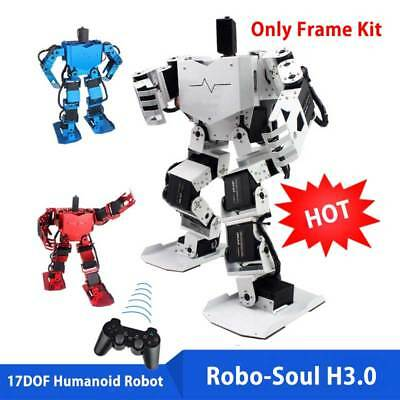 17DOF Biped Robotics Humanoid Walking Robot Only Frame Kits Robo-Soul H3.0