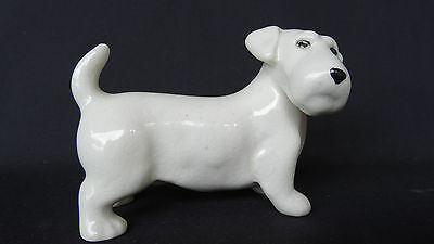 Vintage & Collectable Old Midwinter Burslem England Jack Russell Terrier