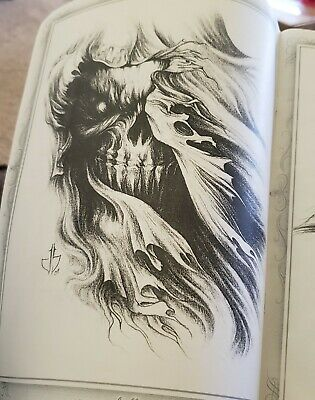 Black & Grey Tattoo Flash   Book Body Art Sketch